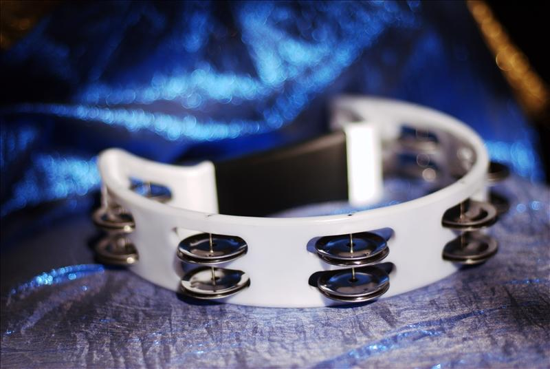 Picture of a tambourine, Valley Christian Fellowship